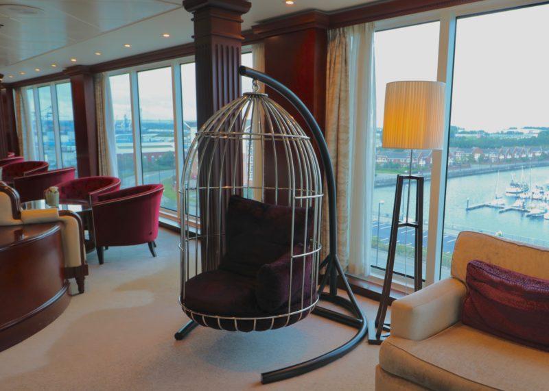 Azamara Journey review tour the Living Room