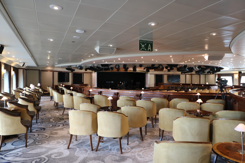 Azamara Journey lounge for shows