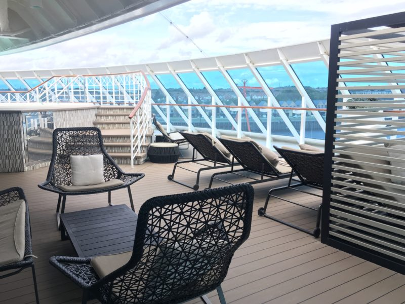 Azamara Journey review tour spa deck