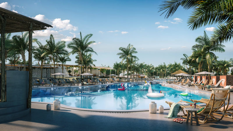 Virgin Voyages Bimini pool