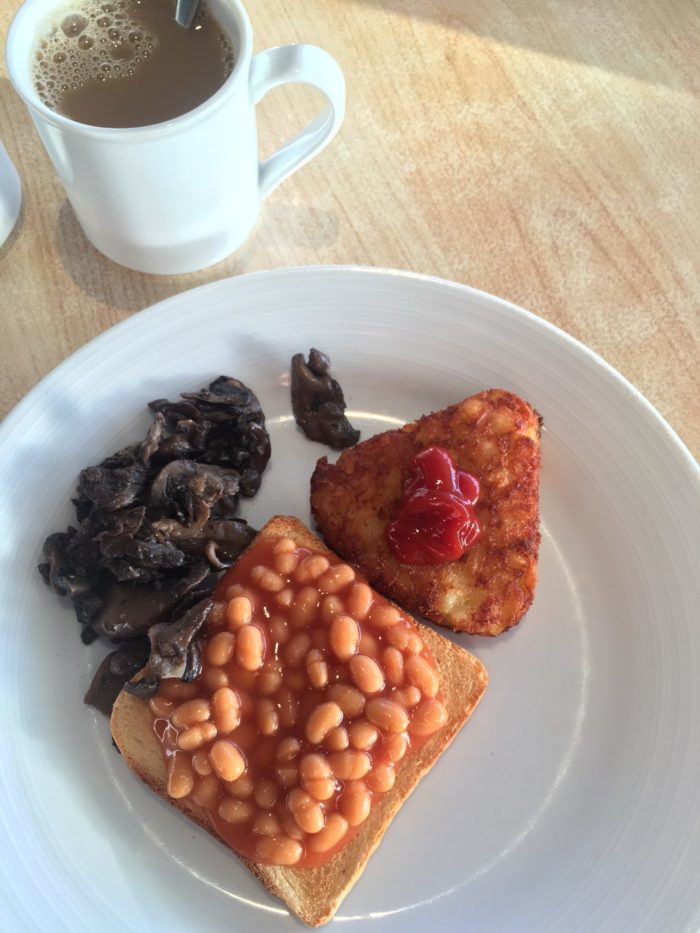 vegan food on Marella Explorer buffet breakfast choice