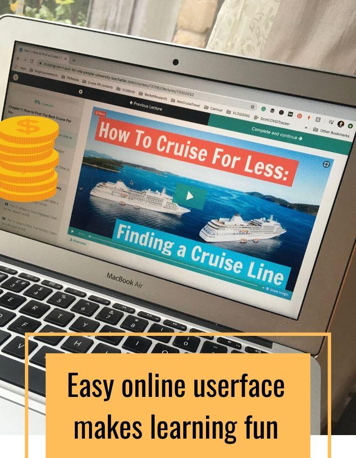 money saving cruise tips course
