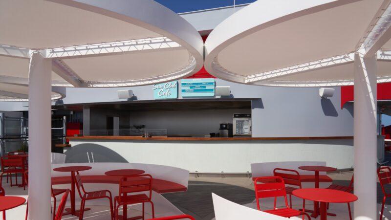 Virgin Voyages Sun Club for Poke Bowls