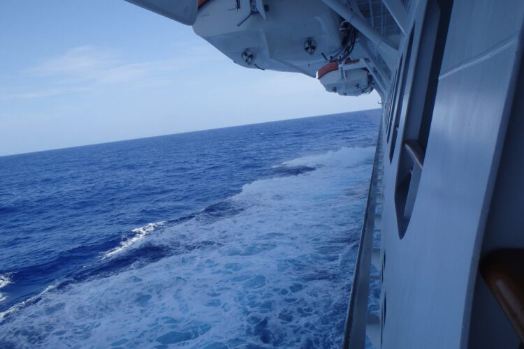 cove balcony view from Carnival Magic