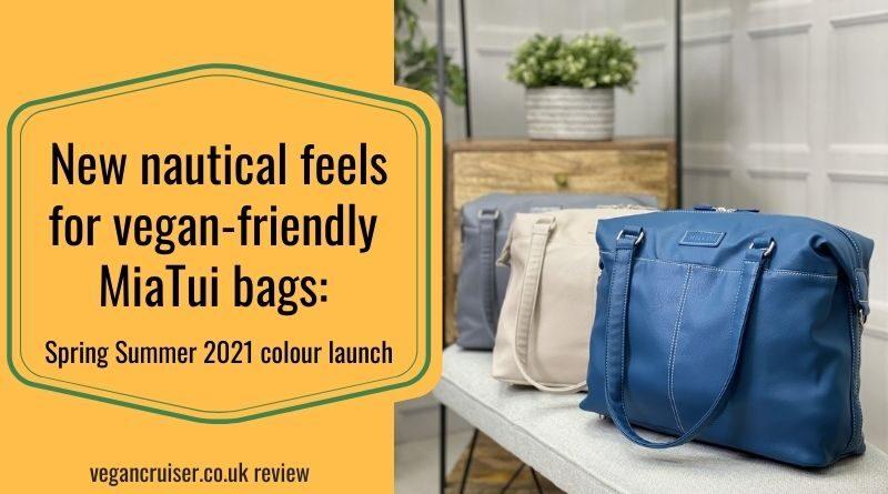 vegan Miatui bags spring summer 2021 colour launch featured image