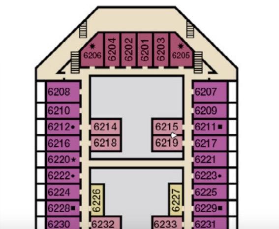 deck plan Radiance