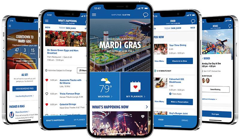 Carnival Hub apps