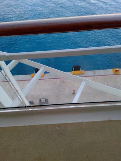 Obstructed balcony money saver