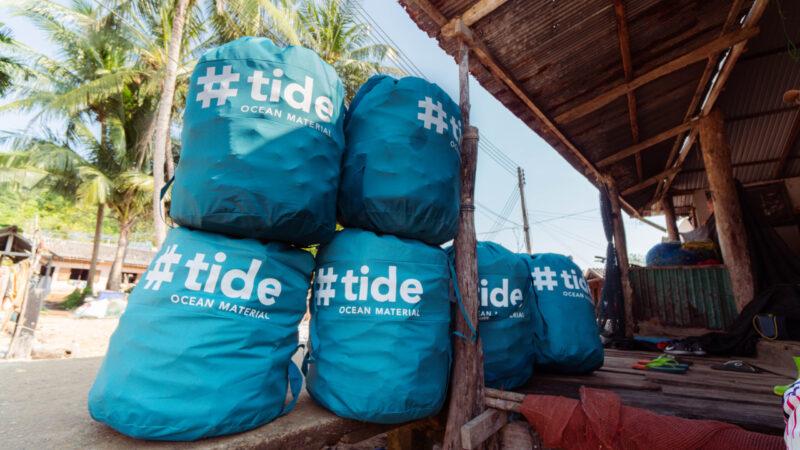 Tide ocean sustainable material recycled ocean plastic