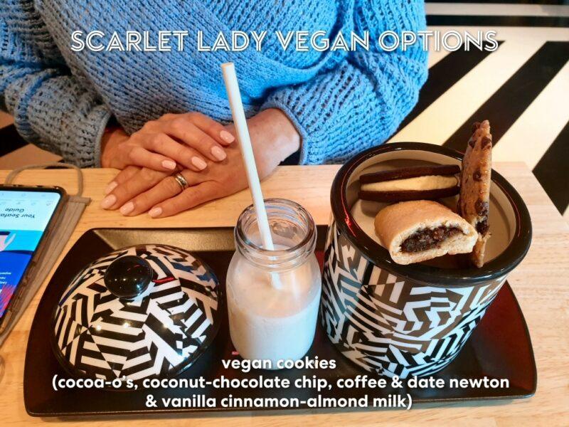 Virgin Voyages vegan cookies Razzle Dazzle