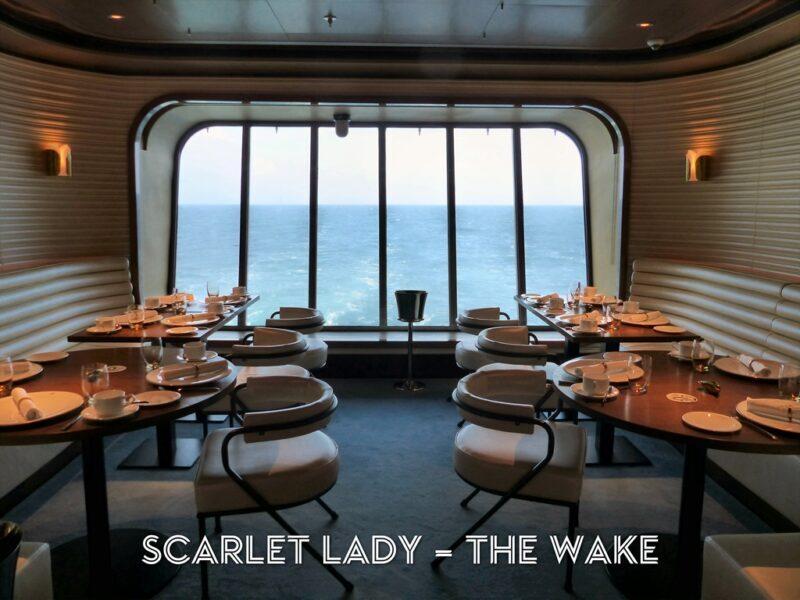 Virgin Voyages The Wake onboard Scarlet Lady